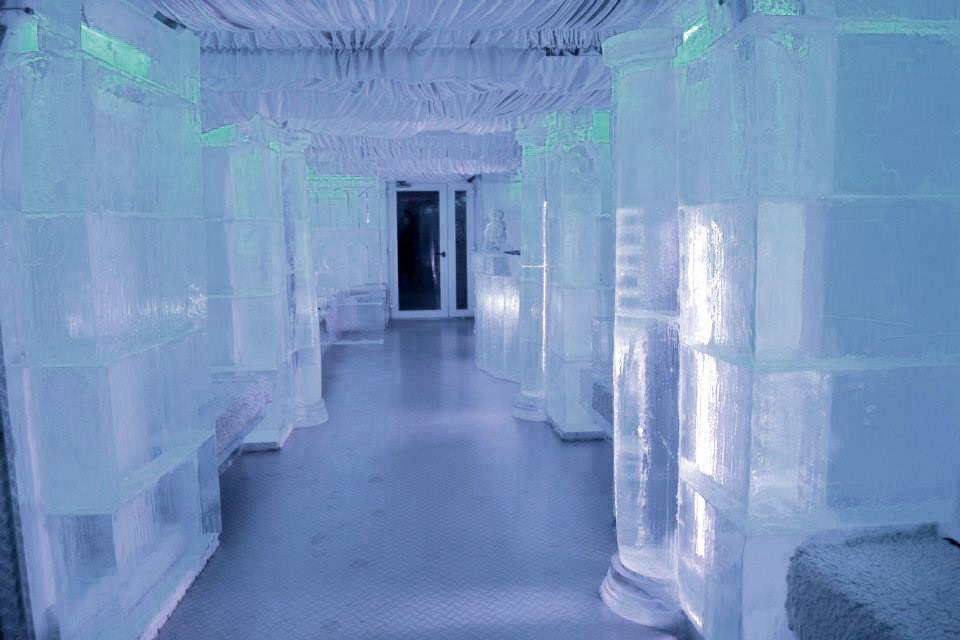 Gotowa realizacja baru lodowego w Rzymie