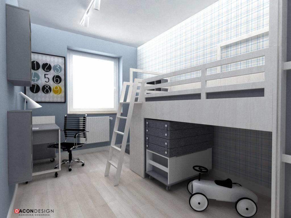 Piętrowe łóżko Vox w pokoju dla dziecka