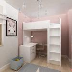 Łóżko piętrowe Ikea w pokoju dziecka
