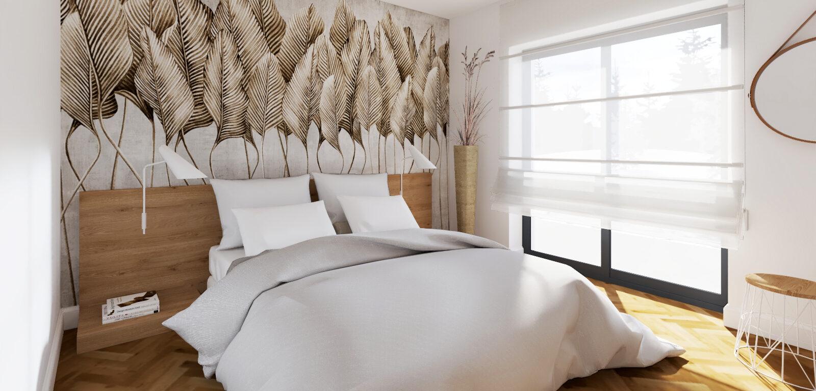 dacon-design-domanska-architekt-stodola-wnetrza-sypialnia-tapeta-garderoba